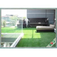 China Monofilament PE + Curly PPE Durable Landscaping Artificial Grass For Indoor / Outdoor on sale