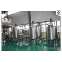 Hazelnut Peanut Butter Processing Equipment / Production Line For Food Industry Manufactures