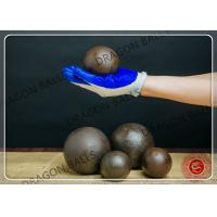 Diam 20mm Hot Rolling Steel Balls C45 60Mn B2 B3 Material Customized Size Manufactures