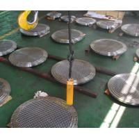 Heat Exchanger Stationary Fixed Floating Alloy Nickel 200 Tubesheet Manufactures