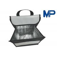 Square Flat folding lunch cooler bag promotional gift insulated lunch coolers Manufactures