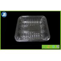 China PET Transparent Plastic Food Packaging Trays , Embossing Printing Packaging on sale