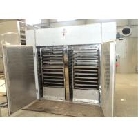 Professional Industrial Hot Air Tray Dryer Stainless Steel Food Dehydrator Manufactures