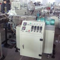 SJSZ45 Double PVC Pipe Conical Single Screw Extruder For PE Pipe Manufactures