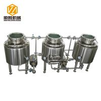 China Home / Pilot Beer Distillery Equipment 100 Liter With Electrical Heating on sale