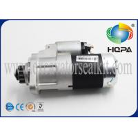199-2334 S3l2 Engine Parts / Engine Starting Motor WPS Brand For CAT 302.5C 303 304 Manufactures