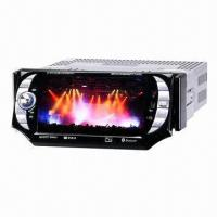 5-inch Car CD Player with DVD Loader, TV/Bluetooth/FM, Detachable Panel, DVB-T/ Materials from Japan Manufactures