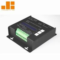LCD Display Black 4CH DMX Decoder With Micro - Computer Control Technology Manufactures