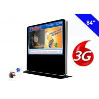 Full HD 3G Digital Signage Free Standing Kiosk Android Advertising Media Player Manufactures