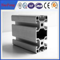 Manufacture 99% pure alloy 6063 v-slot industrial aluminum profile, OEM ODM China aluminum Manufactures