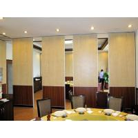 Sliding Sound Proof Operable Movable Partition Walls for Classroom , Commercial Office Manufactures