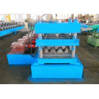 Thrie - Beam Profile Highway Guardrail Roll Forming Machine , Crash Barrier Roll Former Manufactures