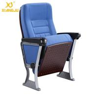 American Styles ABS Armrest Strong Aluminum Base Auditorium Chair With Writing Pad Manufactures