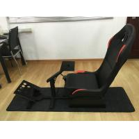 Customized Foldable Sport Racing Seats For Video Games PVC Material Manufactures
