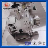 China Dust Proof Stainless Steel Sanitary Pump Milk Juice Hygienic Centrifugal Pump on sale