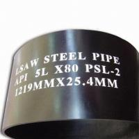 China Custom APL 5CT, API SPEC 5L 3PE Coated SSAW Steel Pipe For Oil Pipeline on sale
