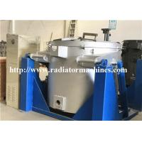 Natural Gas Fired Metal Melting Furnace Copper With Vesuvius Crucible Manufactures