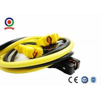 Essential Safety Car Battery Booster Cables 300A - 600A Insulated Color Coded Handles Manufactures