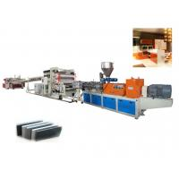 Twin Screw PVC Foam Sheet Extrusion line /  Foam Making Machine For Advertising Material Manufactures