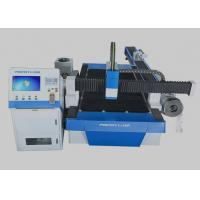 500 * 3000mm Laser Cutting Machine Touch Screen Controlled For Metal Plate Processing Manufactures