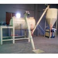 Simple Dry Mortar Production Line for mixing many kinds of dry powder & fine granular materials made by Henan Ling Hengn Manufactures