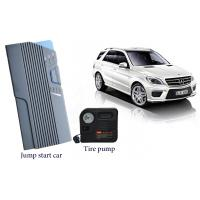 Small Electric Auto Jump Starter With Air Compressor / Led Light For Emergency Start Manufactures