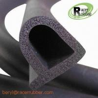 China Door and Window EPDM /Silicone Foam Rubber Extrusion Sealing Strip on sale