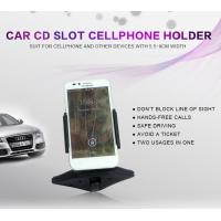 Universal Car Cellphone Holder , Cell Phone Cup Holder Car Mount With Clip Manufactures