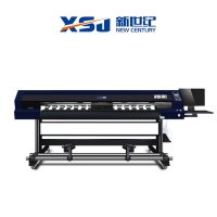 China UV Inkjet CMYKW SKYCOLOR H1 4720 Advertising Printing Machine on sale