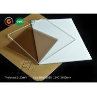 China 4mm flexible acrylic sheet scratch resistant acrylic sheet apply to clean room partition on sale