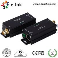 Mini 1 Channel IP Ethernet Over Coax Cable Extender Converter RJ45 / BNC Connector Manufactures