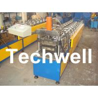 10 Station Metal U Runner Roll Forming Machine For Light Steel Stud / Track Manufactures