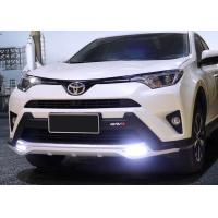China TOYOTA 2016 RAV4 Plastic Front Bumper Guard With LED Light And Rear Guard on sale