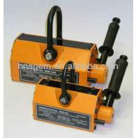 Yellow Heavy Duty Lifting Magnets Non Dangerous Slings 900kg Attraction Force Manufactures