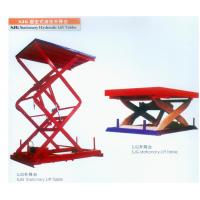 Factory heavy cargo transit stationary scissor lift Manufactures