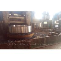 4140 42CrMo4 Rolled Forged Steel Rings Q+T High Hardness For Concrete Mixer Truck Manufactures