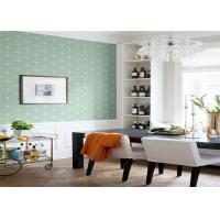 Non Woven Removable American Style Wallpaper Flower Design 5.3 Sqm / Roll Manufactures