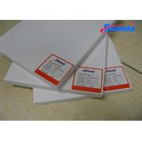 Sign Display PVC High Density Foam Board with 0.19% WaterAbsorption Fire Retardant Manufactures