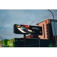 Water Proof Outdoor LED Display Boards P10mm DIP High Definition 7500 Nit Brightness Manufactures