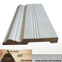 China MDF skirting board architectural decorative moulding on sale