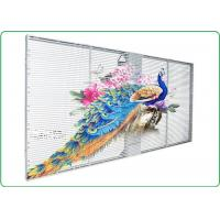 P10 Indoor Advertising Led Display Transparent Led Panel with Remarkable Visual Performance Manufactures
