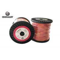 Buy cheap Fiberglass Insulation Thermocouple Cable Type K 100 M Extension Class I from wholesalers