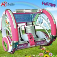 China Attractions in china outdoor or indoor amusement park equipment 360 degree swing le bar ride happy car on sale