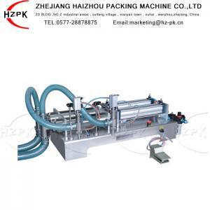 Antiexplosive Semi Automatic Liquid Filling Machine 300-2500 Ml Range Manufactures