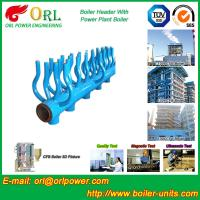 Power Station Boiler Header Manifolds Oil Fired Boiler Unit TUV Certification Manufactures