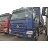 Buy cheap 10 Wheels Blue HOWO Heavy Dump Truck 336HP Tipper Truck 315/80R22.5 Tire from wholesalers