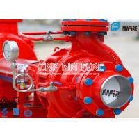 NFPA20 UL Listed 200gpm Electric Fire Water Pump Set , Single Stage Fire Fighter Pumps 105-130PSI Manufactures