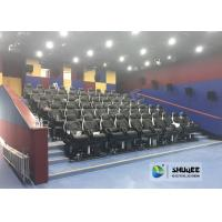 Fast Return 5D Theater With Genuine Leather Electric 5D Seats In Business Center Manufactures