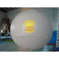 8ft Diameter Reusable White Inflatable Advertising Helium Balloon for opening event Manufactures