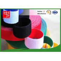 Quality Wide 50mm double sided sticky hook and loop tape , super strength hook and loop different colors for sale